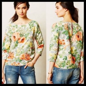 Anthro HD in Paris Bloomfield Blouse